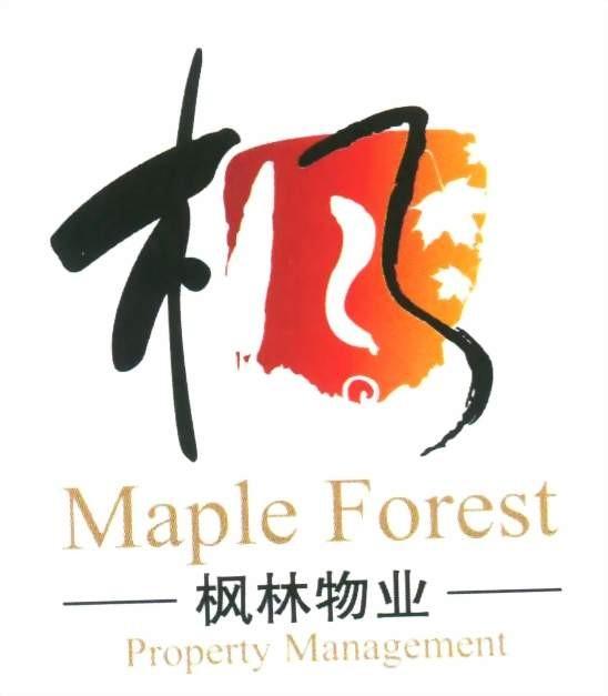 枫叶logo素材