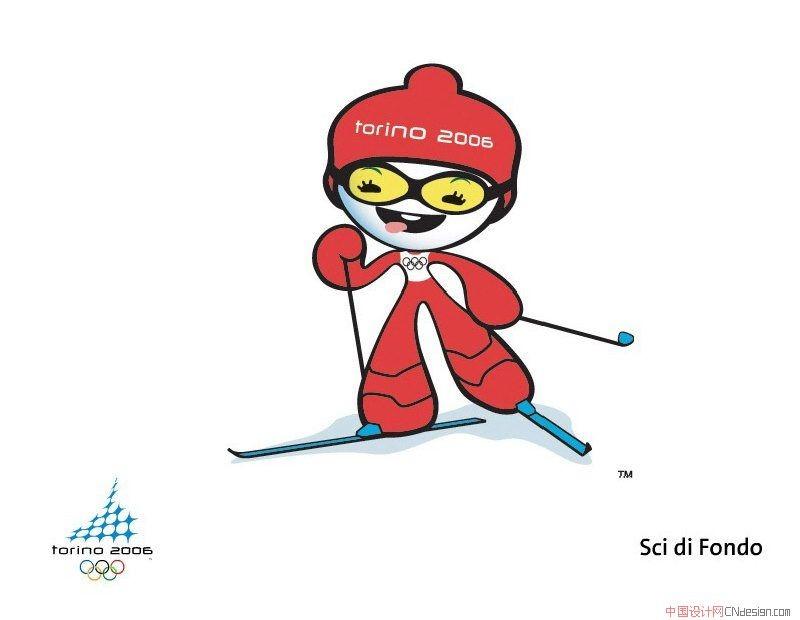 冬奥会吉祥物运动项目_图形字体_字体设计作品-中国网