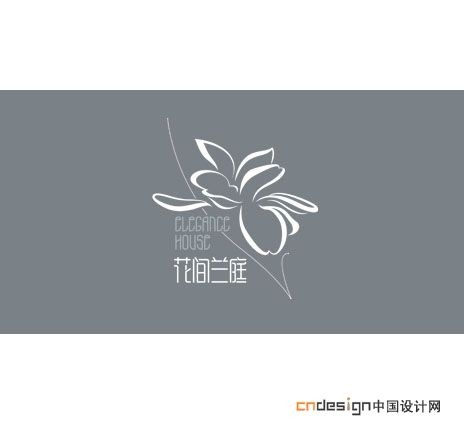 花间兰庭_艺术字体_字体设计作品-中国字体设计网_.