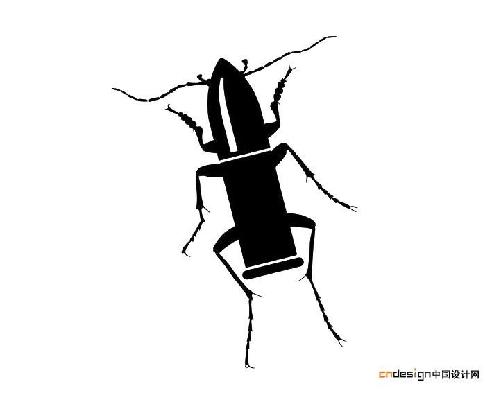 蟑螂简笔画图片大全