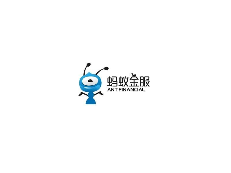 蚂蚁金服_图形字体_字体设计作品-中国字体设计网_.