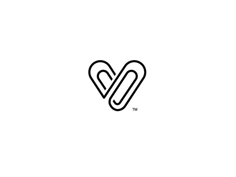 曲别针 v_图形字体_字体设计作品-中国字体设计网_.